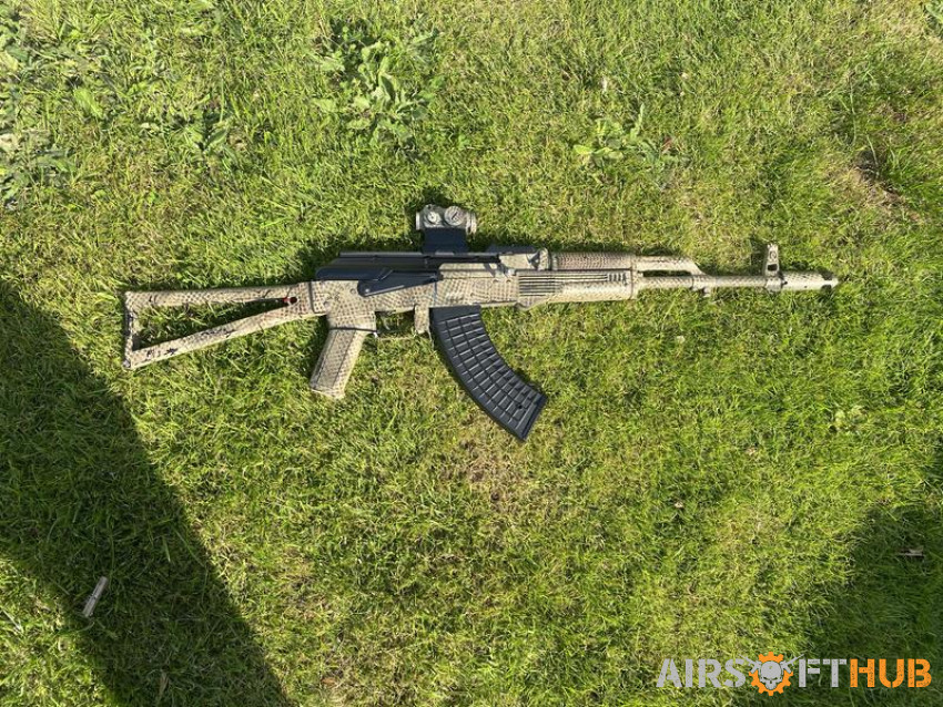 Frankenstein AK74 with Red Dot - Used airsoft equipment