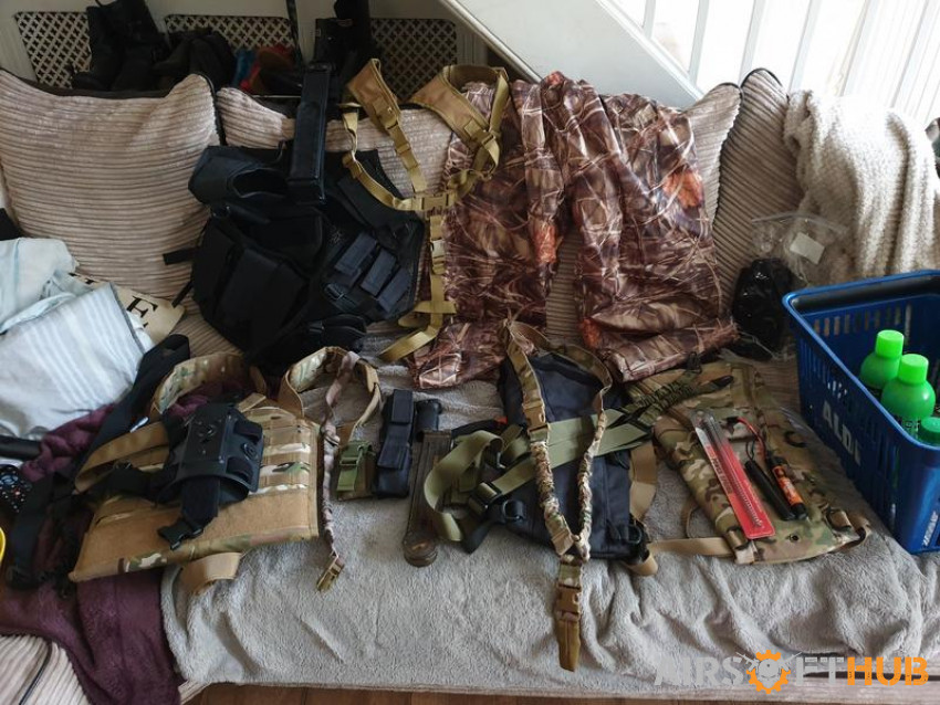 Airsoft Gear - Used airsoft equipment