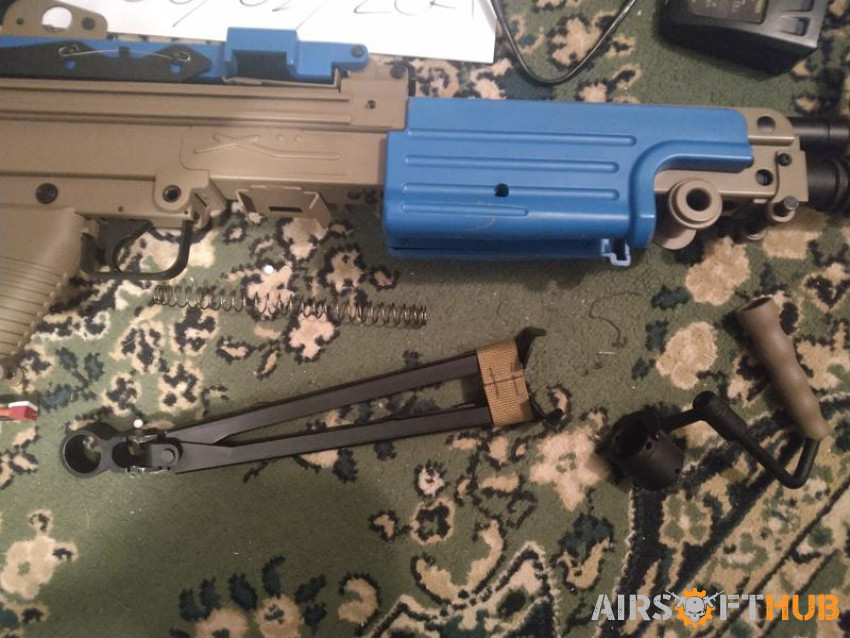 A&k m249 sale or swap - Used airsoft equipment