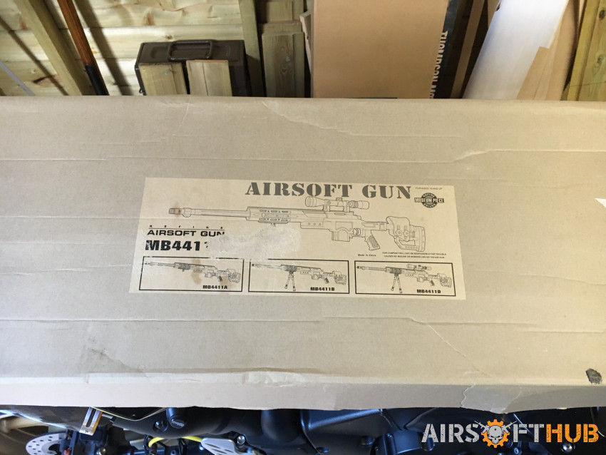 Well MB4411 - Used airsoft equipment