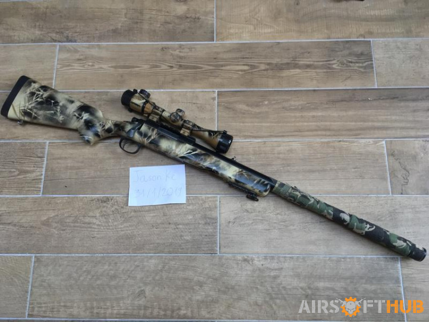 VSR-10 with EdGi upgraded part - Used airsoft equipment