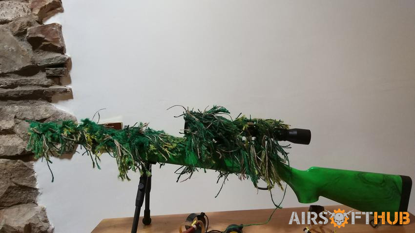 Well MB02 VSR10 - Used airsoft equipment