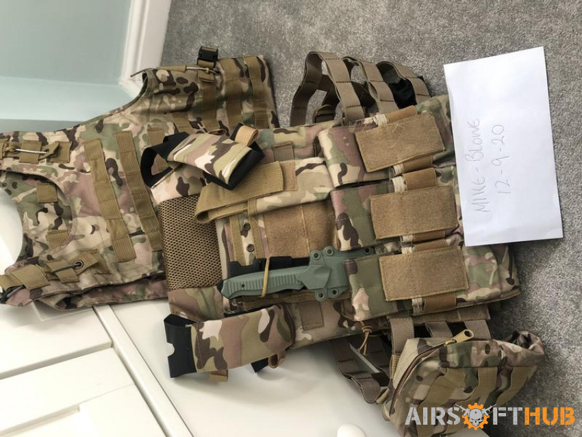 Airsoft gear and accessories - Used airsoft equipment