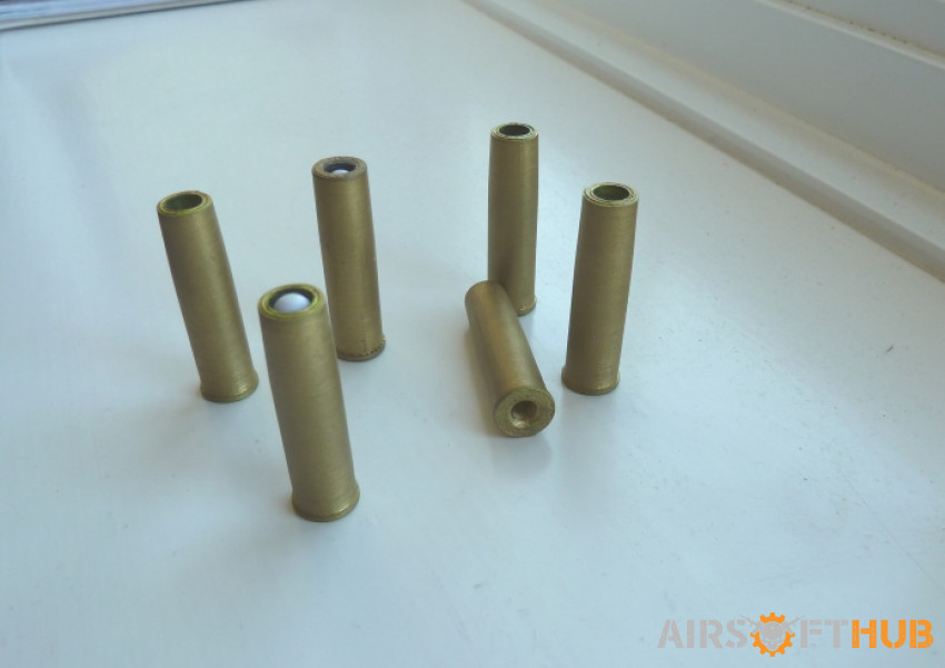 Revolver 6mm Multi-BB Shells - Used airsoft equipment