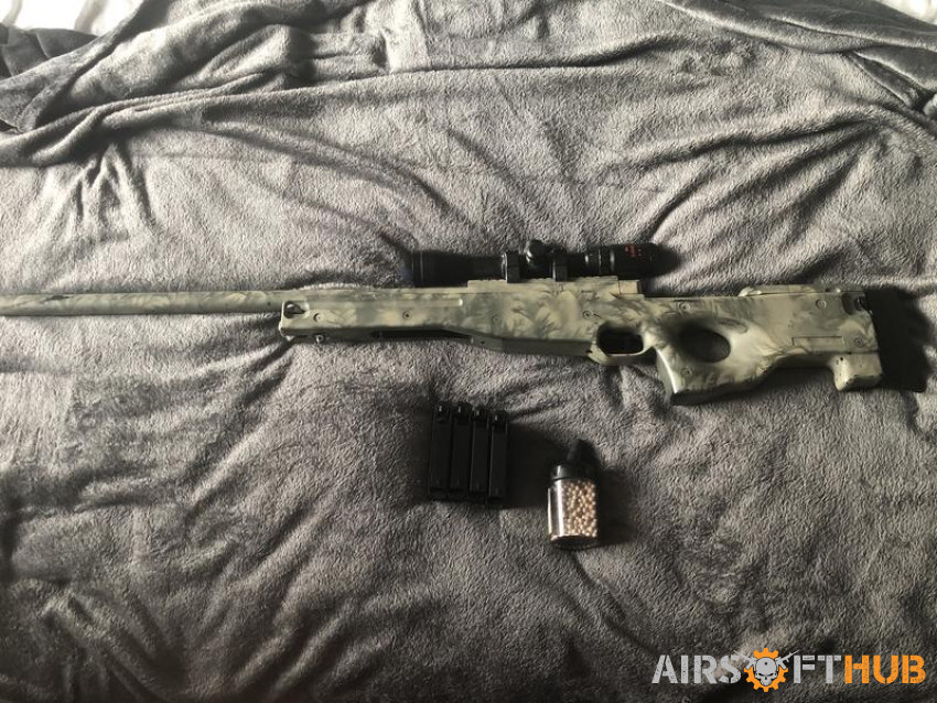 L96 Sniper - Used airsoft equipment