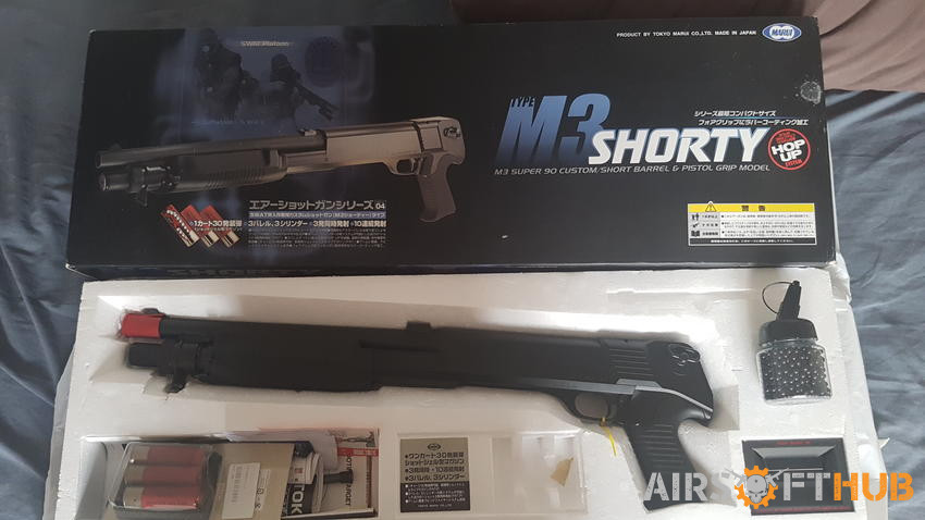 M3 Shorty shotgun - Used airsoft equipment