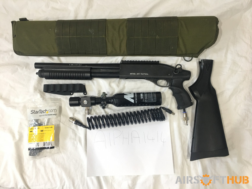 HPA TM Breacher - Used airsoft equipment