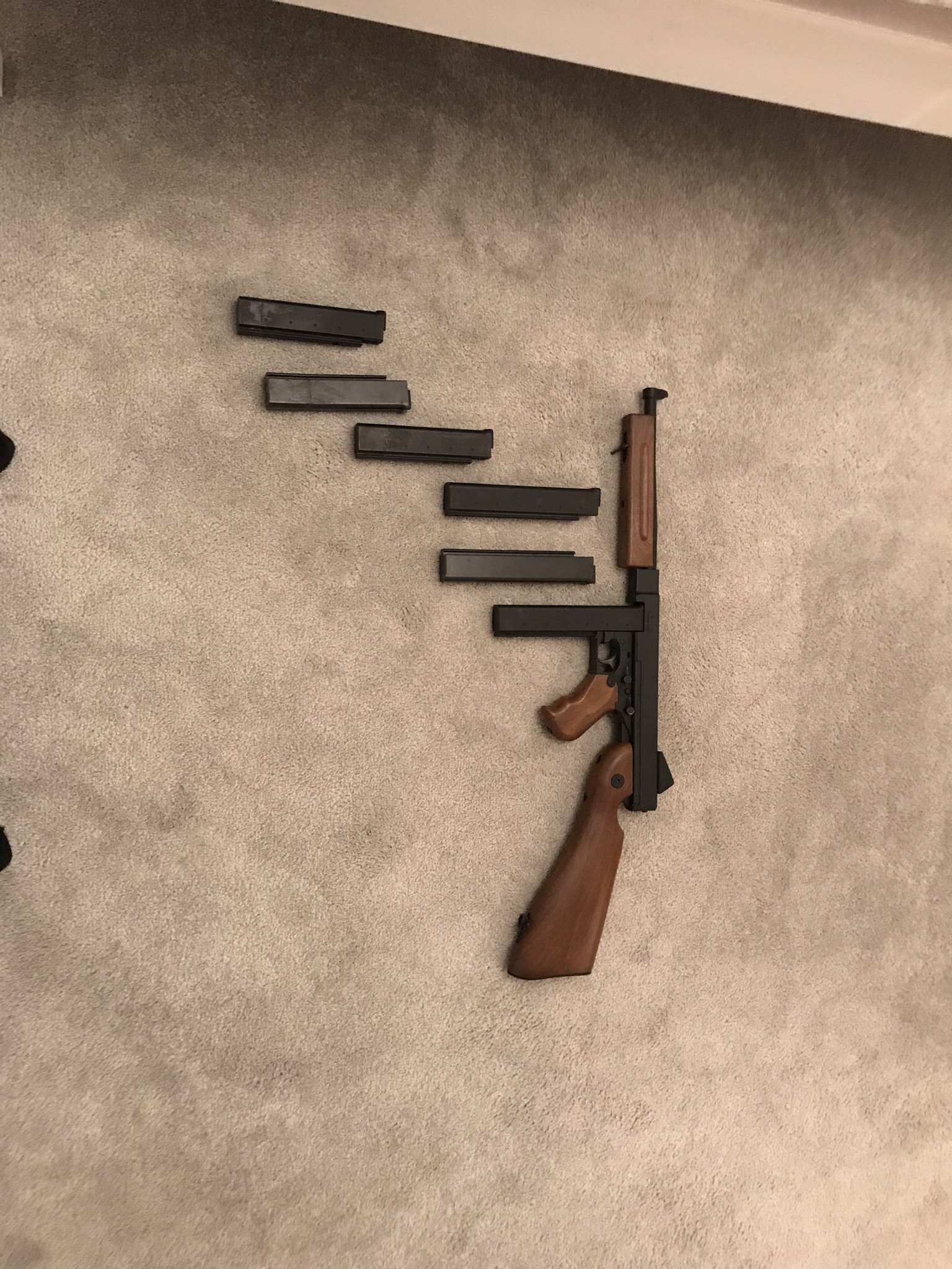 King arms Thompson m1a1 (DELETED) - Buy & Sell Used Airsoft Equipment -  AirsoftHub