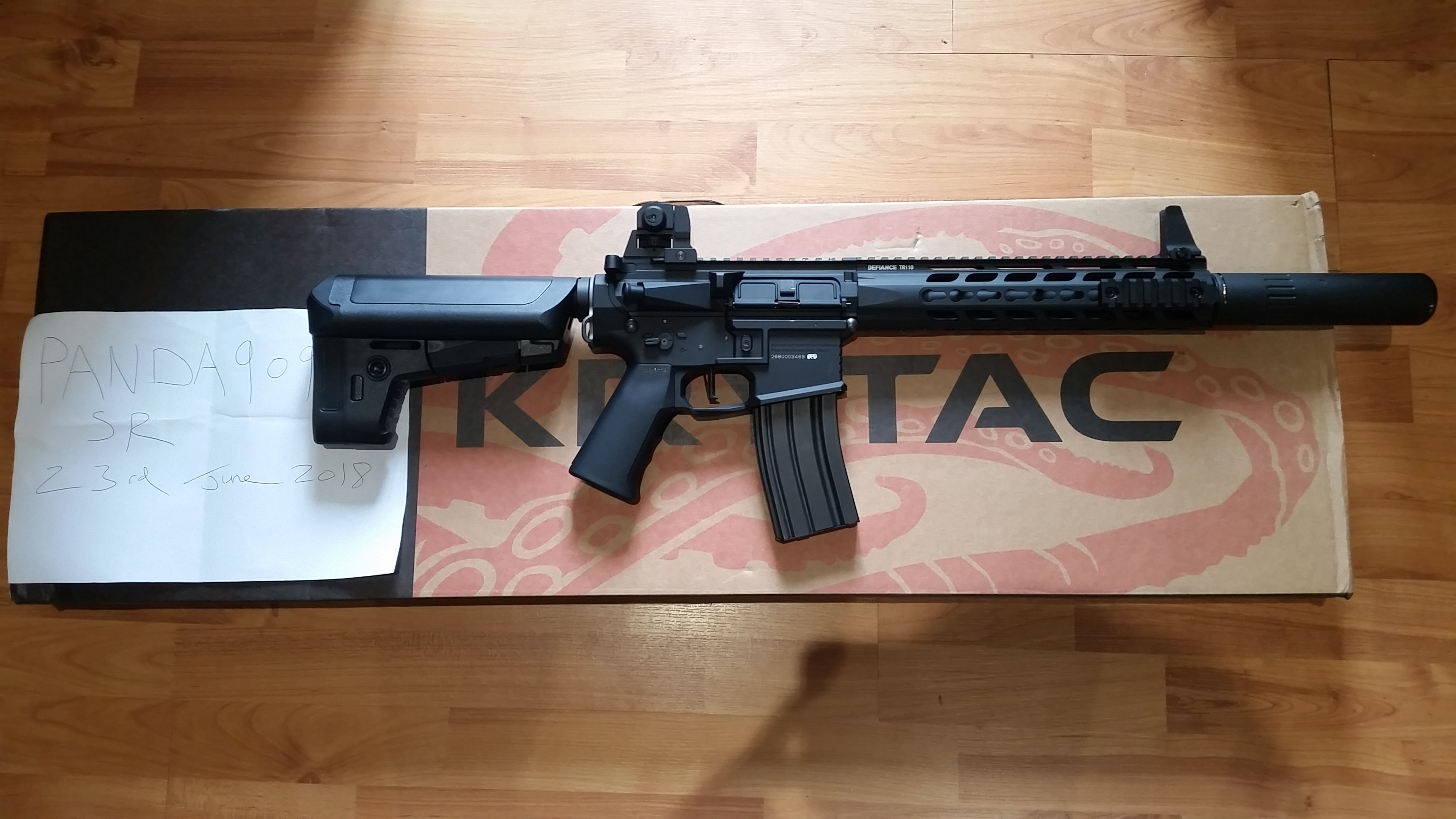Krytac Trident MkII CRB – Blac (DELETED) - Buy & Sell Used Airsoft  Equipment - AirsoftHub