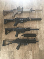 AEG clearing out - Used airsoft equipment