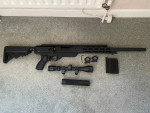 Gas Bolt Action AAC-21 Sniper - Used airsoft equipment