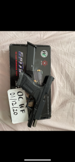 WE tactical glock - Used airsoft equipment