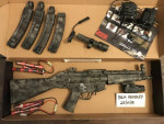 - Used airsoft equipment