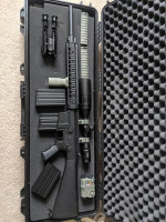 A&K SR 25 M110  DMR - Used airsoft equipment