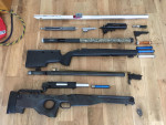 Sniper parts clearing out - Used airsoft equipment