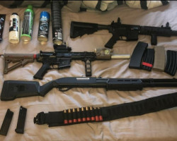 Bundle - Used airsoft equipment