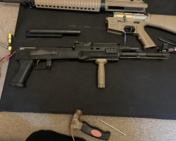 G&P ak47 tactical - Used airsoft equipment