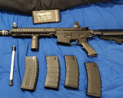 GHK M4 MK18 Daniel Defense - Used airsoft equipment