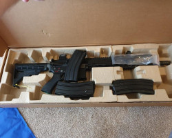 WE 416 GBB - Used airsoft equipment