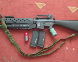 Uknown Brand M16 with M203 - Used airsoft equipment