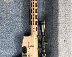 Nuprol delta DMR airsoft RIF - Used airsoft equipment