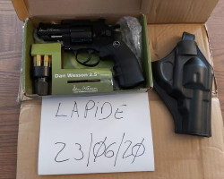 "Dan Wesson 2.5""revolver - Used airsoft equipment"