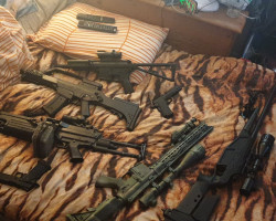 airsoft job lot - Used airsoft equipment