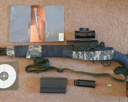SLV M14 (Sniper,Single/Auto) - Used airsoft equipment