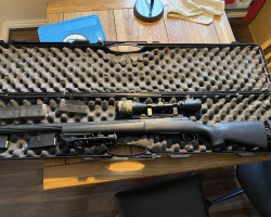 Sold pending collection SSG24 - Used airsoft equipment