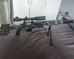 Sniper rifle. Custom paint - Used airsoft equipment