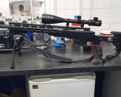 Ares 338 upgraded spring snipe - Used airsoft equipment