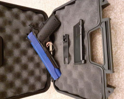 Kimber Colt 1911 Blue Two Tone - Used airsoft equipment