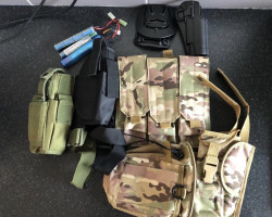 Airsoft bits job lot - Used airsoft equipment