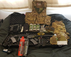 Airsoft bundle - Used airsoft equipment