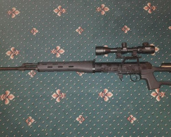 Upgreaded A&K SVD - Used airsoft equipment