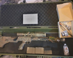 "srs a1 16"" heavily upgraded - Used airsoft equipment"