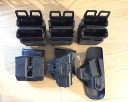 PISTOL & MAG HOLSTERS - Used airsoft equipment