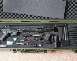 ICS RIF, GAS PISTOL & JOBLOT - Used airsoft equipment