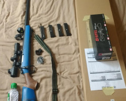 Well-MB03A sniper + other gear - Used airsoft equipment