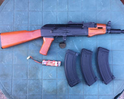 AK-74 Metal & Wood - Used airsoft equipment