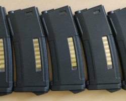5 X NEW PTS EPM Mags - Used airsoft equipment