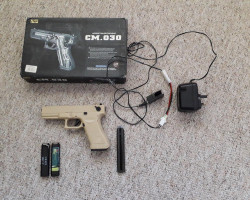 CYMA 030 Glock 18c AEP - Used airsoft equipment