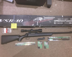 Tokyo Marui VSR10 Upgraded - Used airsoft equipment